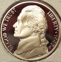 1997-S DCAM PROOF Jefferson Nickel PF65 #0490 - $2.39