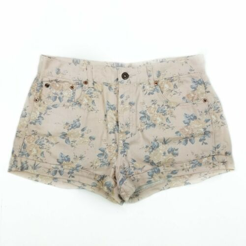 Primary image for FOREVER 21 Jean Shorts Button Fly Floral size 29 Womens 100% Cotton