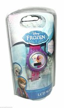 "Disney Kid's ""Frozen"" Anna and Elsa Digital Display Watch With Pink Rub-... - $39.59"