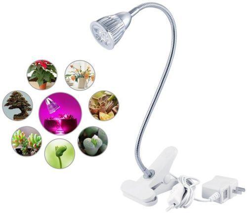 Led Plant Grow Lights 5W, ANNT Succulent Light Clip Desk Plant Growing Lamp For