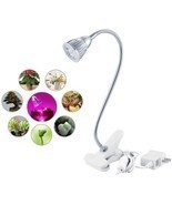 Led Plant Grow Lights 5W, ANNT Succulent Light Clip Desk Plant Growing L... - £19.95 GBP