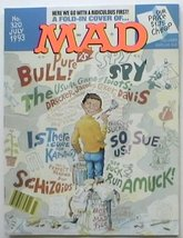 Mad Magazine #320 July 1993 Fold In Cover Spy - $1,000.00