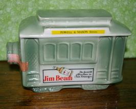 Jim Beam Decanter San Francisco 1968 Trolley Car - $15.95