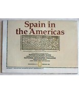 National Geographic Spain In Americas Map Feb 1992 New - $4.00