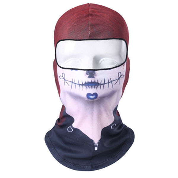 5c30bf665d51f Mouth Stitches Creepy Scary Ski Motorcycle and 50 similar items
