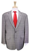 * BURBERRY * London Recent Gray Glen Plaid 2-Btn Luxury Wool Suit 42S - $227.50