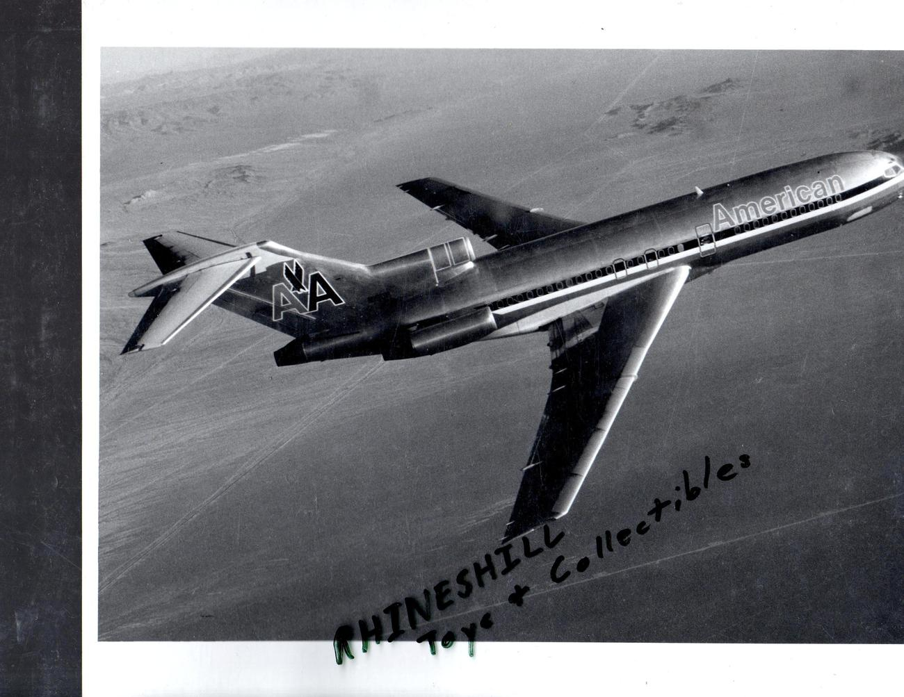 Primary image for American Airlines  727 In Flight photograph