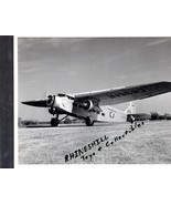 Airplane Ford Trimotor (A.A.) Two Pictures  1-8x10 & 1-3X5 print - $2.75