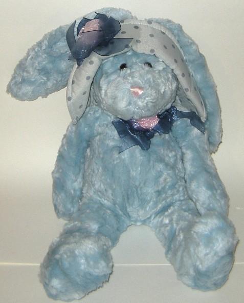 1/2 Price! Strouds Chosun Floppy Blue Plush Rabbit w Hat NWOT