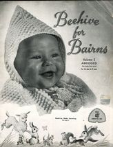 Baby Knit Crochet Layette Sleeping Bag Bunting Dress Shawl Afghan Pattern 0-9M - $12.99