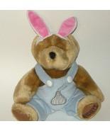 1/2 Price! Hersheys Kiss Plush Bear Rabbit Easter Bunny NWOT - $3.00