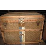 Antique, Vintage Louis Vuition Trunk, Hatbox, Half Trunk - $5,500.00