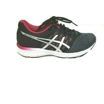 Asics Gel Exalt 4 Running Shoe Sneakers Women Size 9.5 Black Grey Pink T... - $32.66