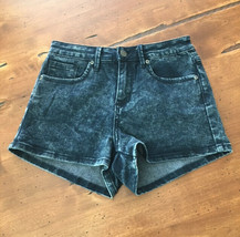Womens Forever 21 SIze 27 Dark Acid Wash Shorts Denim Jean - $2.96