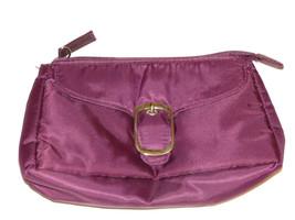 Avon Marke Damen Handtasche Make-Up Reisetasche Aubergine Nwot - $10.68