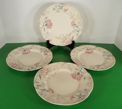 Johnson Brothers LYNTON Salad Plate (s) LOT OF 4 England Pink Blue Floral - $34.60