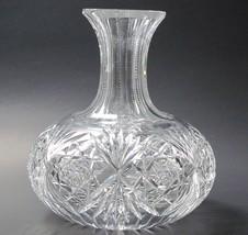 Carafe American Brilliant Period hand Cut Glass antique ABP Wine  - $73.52