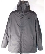 TIMBERLAND A1COI-C64 MEN'S GREY 3 IN 1 WATERPROOF HOODED JACKET - $89.99