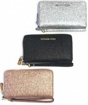 Michael Kors Giftable Large Multifunction Phone Wristlet Wallet Clutch - $69.00