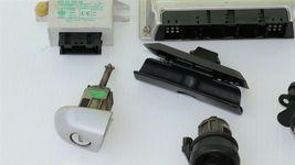 01 BMW 325Ci E46 MT 5sp M54 ECU ECM EWS DME Ignition Trunk Door GloveBox Key image 3