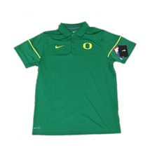 NWT NEW Oregon Ducks Nike Men's Green Team Issue Dri-FIT Polo Shirt Size... - €41,37 EUR