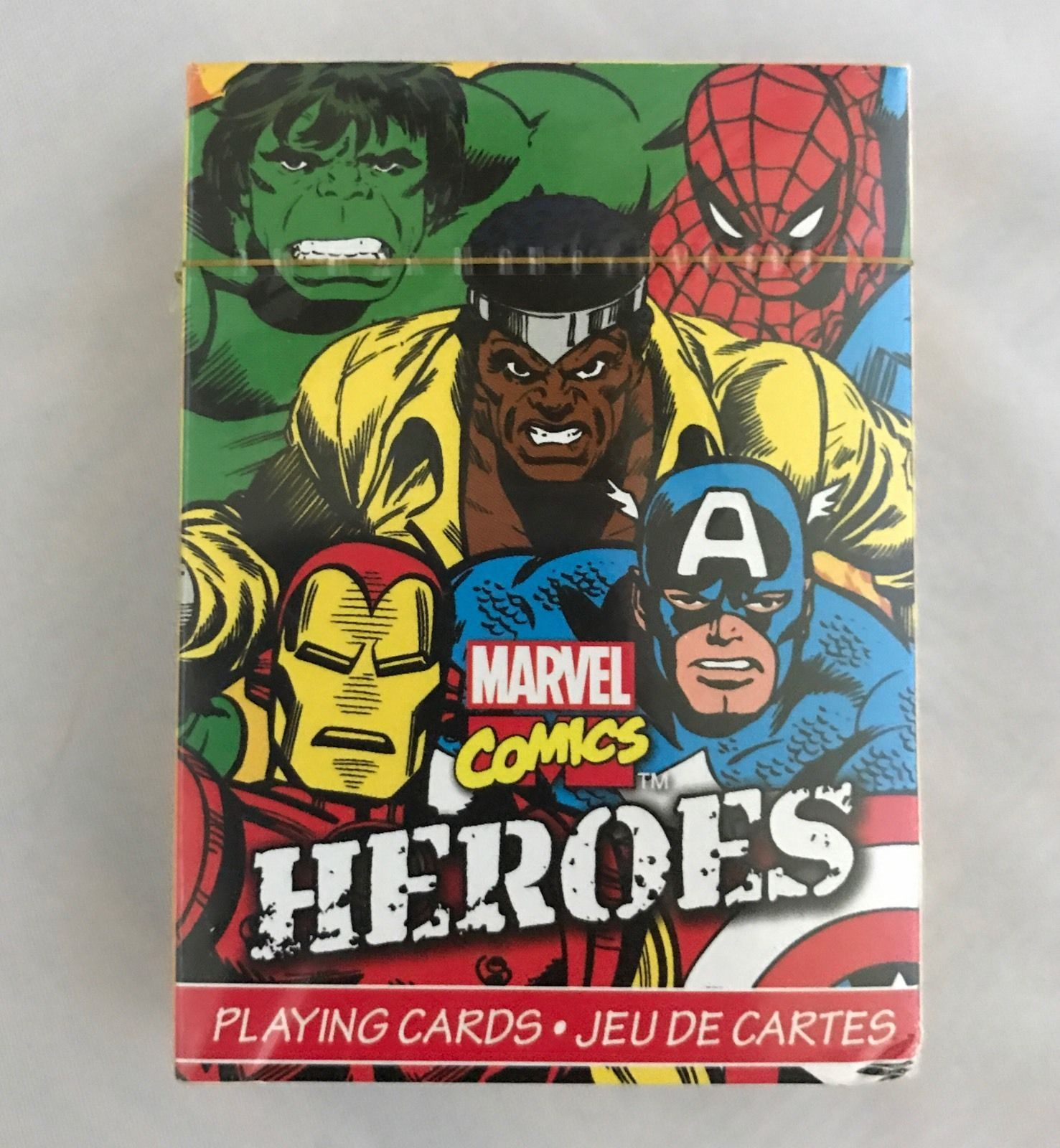MARVEL HEROES PLAYING CARD DECK 52 CARDS NEW COMICS 52324