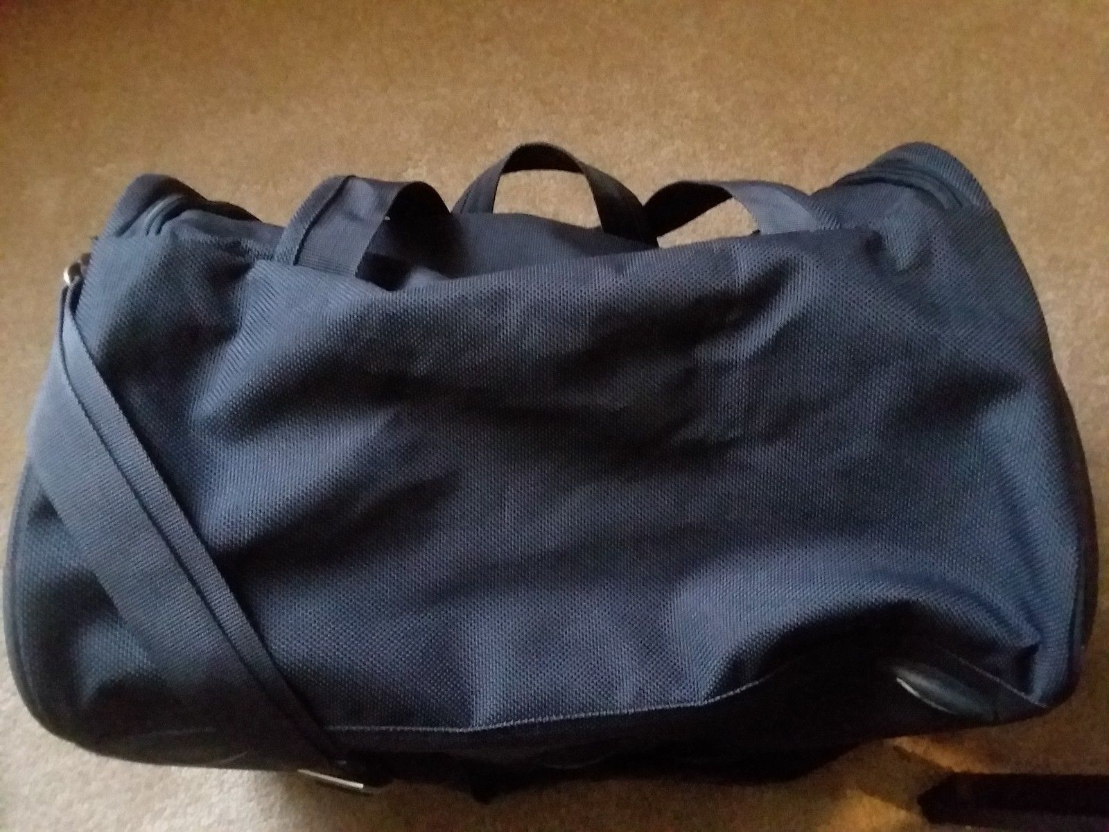 Samsonite Gray Yellow Travel Case Duffel Luggage image 2