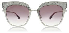 Jimmy Choo Rosy/S 5RL CAT EYE Sunglasses Light Gold /Burgundy Gradient NEW 51mm - $247.45
