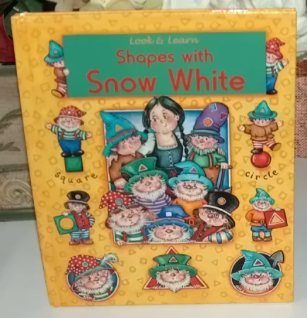 Look to learn shapes with snow white