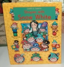Shapes With Snow White - $8.00