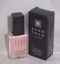 Avon True Color BB Nail Enamel-(Perfect Pink/ Perfection Rose) New/Boxed 4 oz. - $4.30