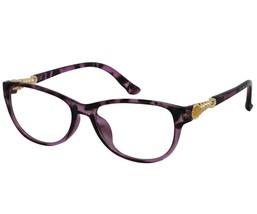 EBE Bifocal Reading Glasses Womens Mens Retro Style Violet Tortoise Cat Eye - $31.99
