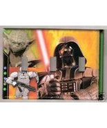 Triple Light Switchplate/Switch plate Darth Vader & all - $10.75