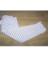 Baby Size 24 Months Pink White Metallic Striped Leggings Pants New - $10.00