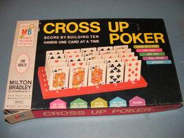 1968 Cross Up Poker Game - $25.00