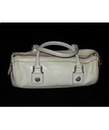 Michael kors white leather purse thumbtall