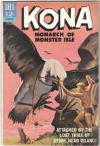 Kona Monarch of Monster Isle Comic Book #13 Dell Comics 1965 FINE/FINE+ - $16.39