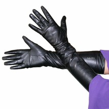 "50cm(19.50 "") Damen (100% Echtes Leder)Long Opera Gloves/Abend/Party Han... - $30.96+"
