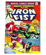 Marvel Comics IRON FIST Oct #18 1974 F/VF + Big Jim Kung Fu Mattel Toy Ad - $10.80