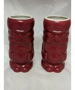 Red Tiki Mug Cup Accoutrements Lot of 2 2004 #3 - $18.14