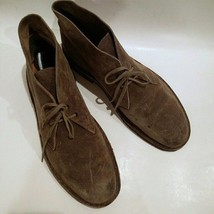 CLARKS Originals Desert Boots ChukkaMens Sz 12 Distressed Suede AWESOME... - $53.90