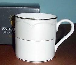 Waterford Presage Mug Platinum Banded 8 oz. New In Box - $22.90