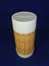 Vintage Aladdin's Plaid Best Buy Thermos Bottle Wide Mouth Ten ounce WM4020 - $13.30