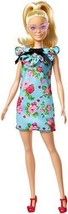 2018 Barbie Fashionista Doll 92 Teal Floral Dress Brand New! Mattel NIB - $11.53