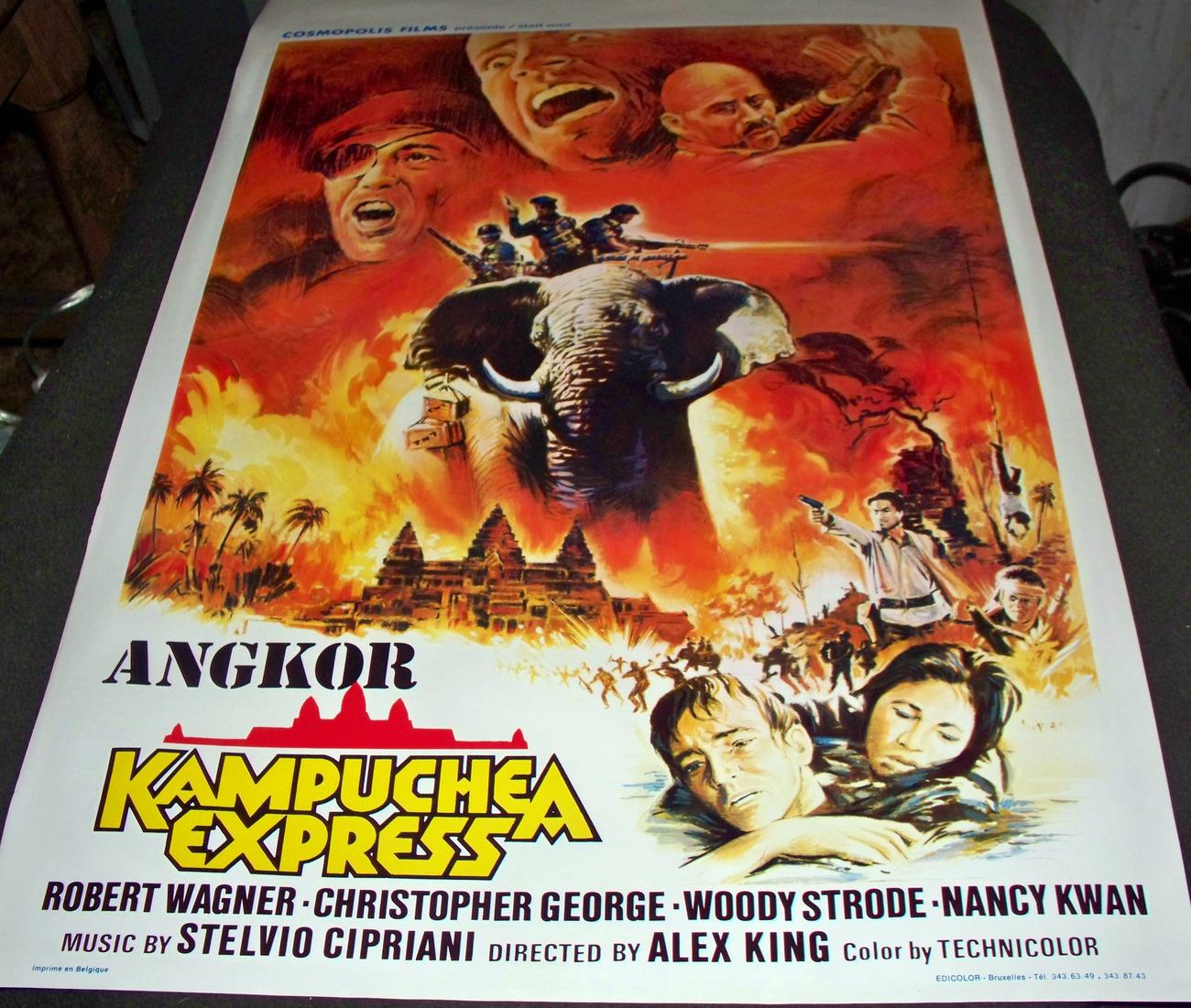 Angkor: Kampuchea Express 1982 European Movie Poster