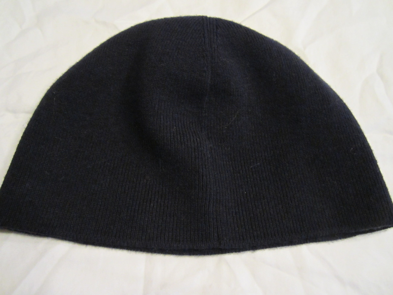 1b5d937be Nwt Lanvin Navy Ribbed Knit Wool Skully and 50 similar items