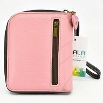 Chala Handbags Faux Leather Whimsical Unicorn Pink Zip Around Wristlet Wallet image 2