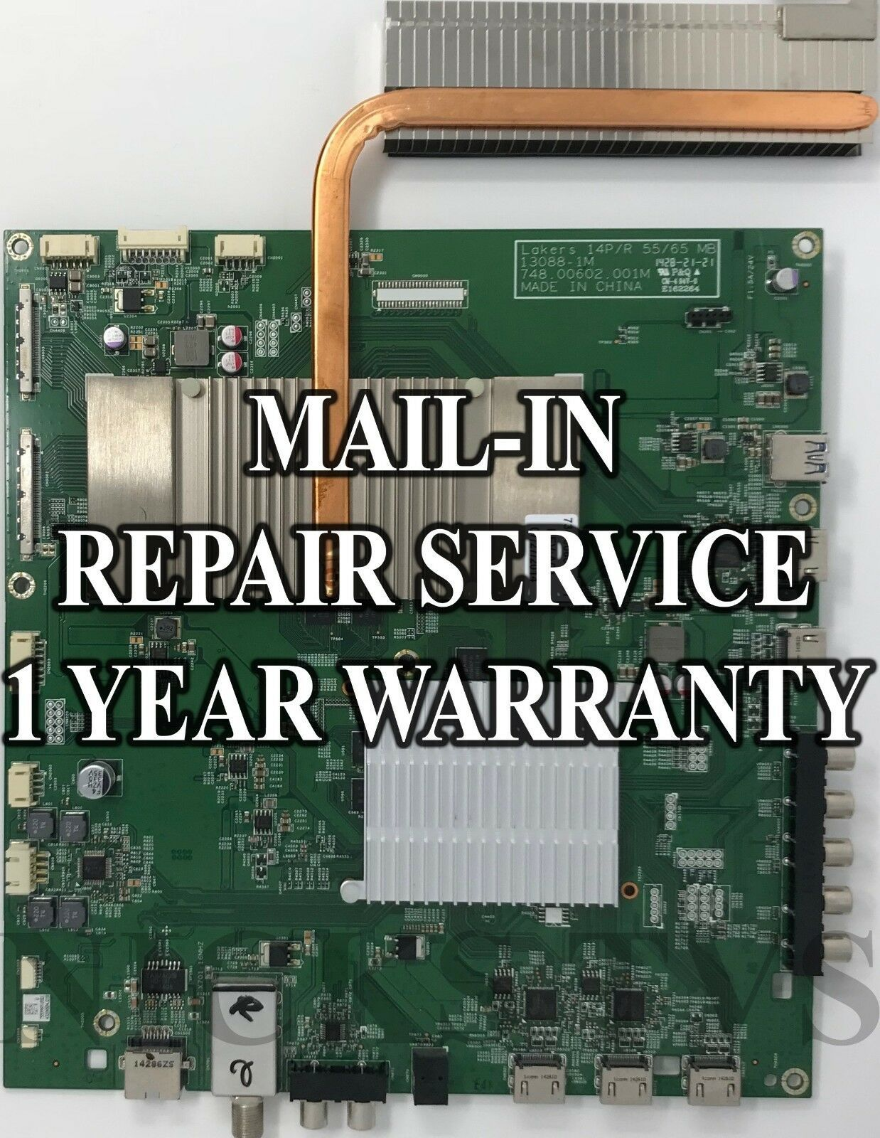Primary image for Mail-in Repair Service For Vizio 791.00D10.0001 Main Board 13088-1M P652UI-B2