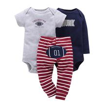 New fashion fleece baby girls romper + trousers clothes - $20.66+