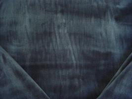 6-1/4Y KRAVET LEE JOFA BALTIC BLUE HEAVY VELVET DRAPERY UPHOLSTERY FABRIC - $173.25